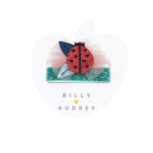 Billy Loves Audrey Ladybug 2Pk Hair Bands