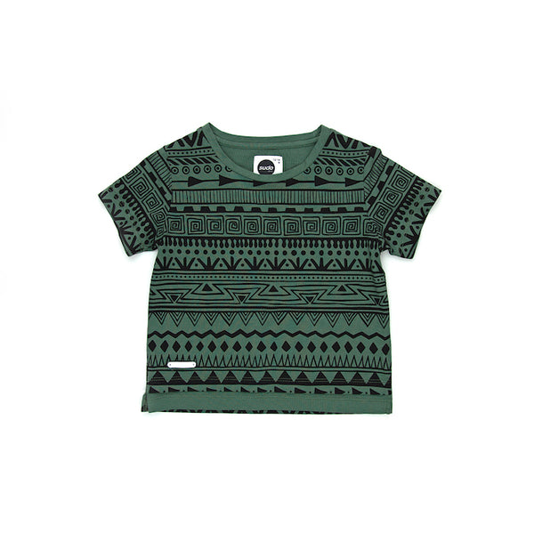 Sudo Mini Tribal S/S Tee - Pine