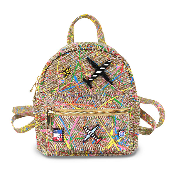 Milk & Soda Jetset Backpack  Multi