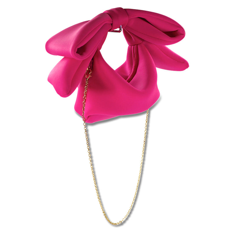 Milk & Soda Bow Bag Pink