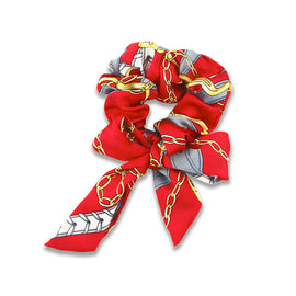 Milk & Soda Scarf Scrunchie Red