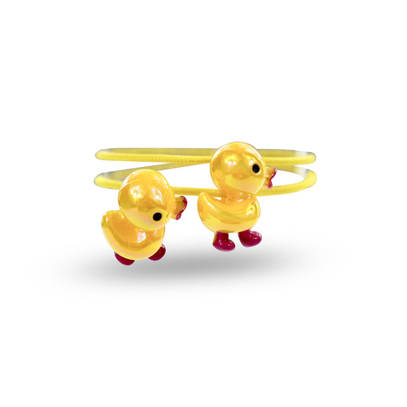 Milk & Soda Duckling Elastics-Yellow