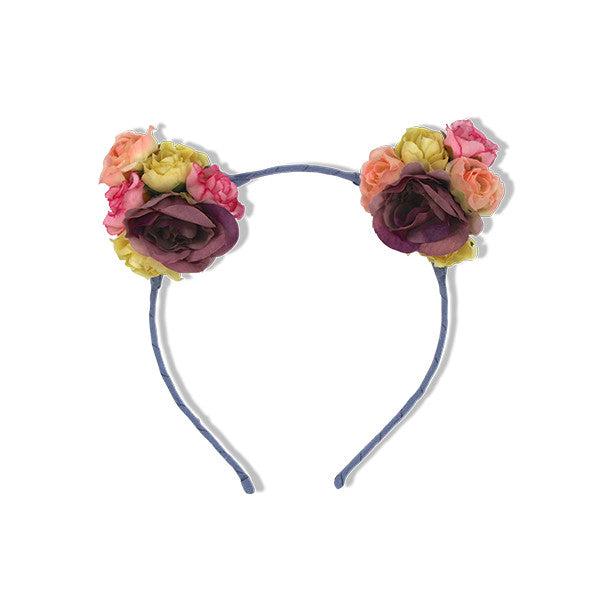 Milk & Soda ROSE KITTY HEADBAND INDIGO