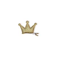 Milk & Soda Glitter Crown Duck Clip