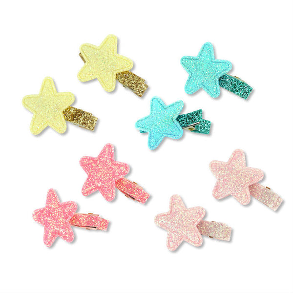 Milk & Soda Mini Glitter Star Duck Clip