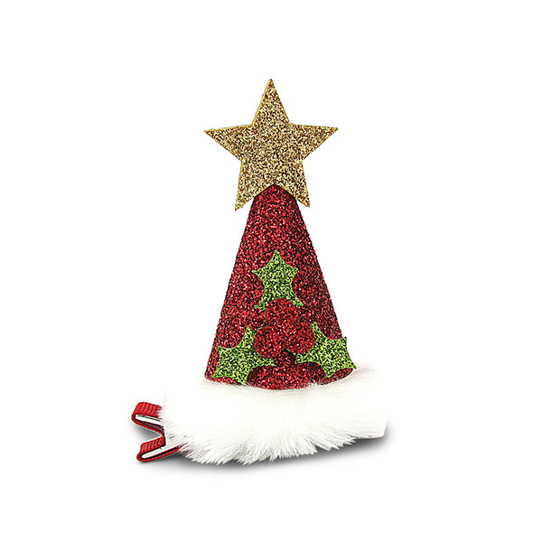 Milk & Soda CHRISTMAS TREE DUCK CLIP (GOLD)