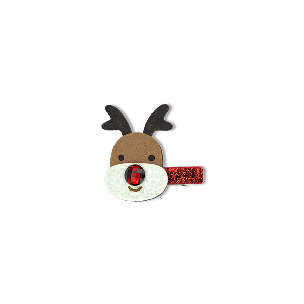 Milk & Soda CHRISTMAS DUCK CLIP (RUDOLPH)
