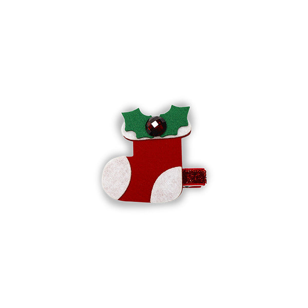 Milk & Soda CHRISTMAS DUCK CLIP (STOCKING)