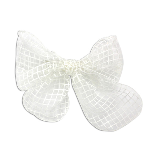 Milk & Soda Savanna Hair Clip-White