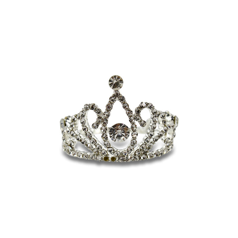 Milk & Soda Princess Eugenie Tiara Comb-Clear