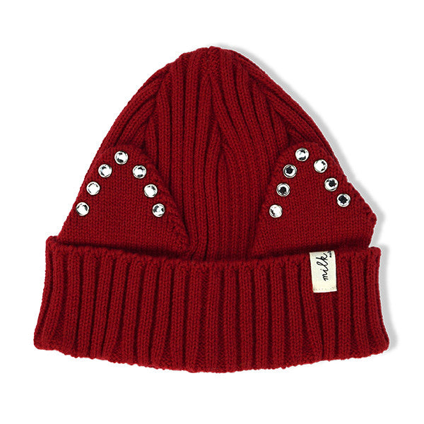 Milk & Soda MABEL BEANIE RED