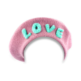 Milk & Soda Love Beret Pink