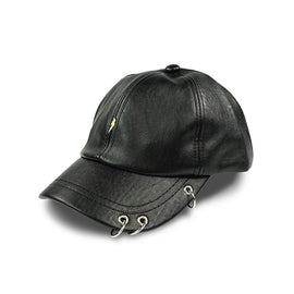 Milk & Soda Rings Cap Black