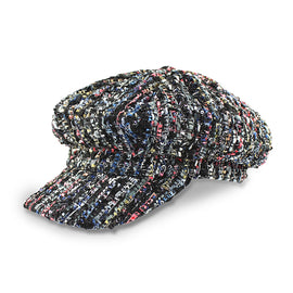 Milk & Soda Boucle Cap Black
