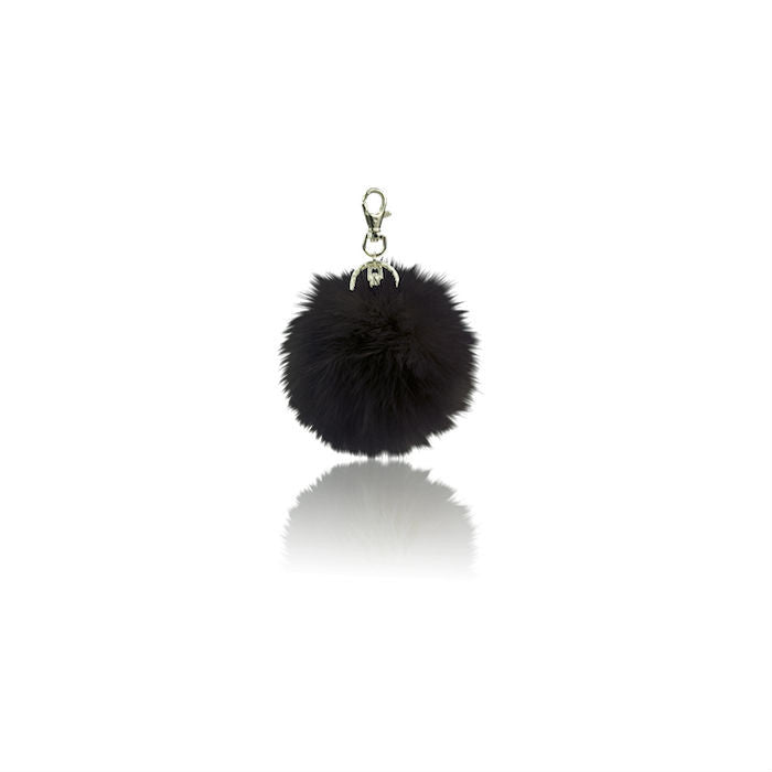 Milk & Soda Emilie Keyring Black