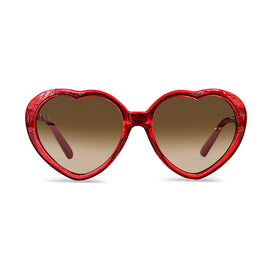 Milk & Soda Sunglass SOPHIE RED GLITTER