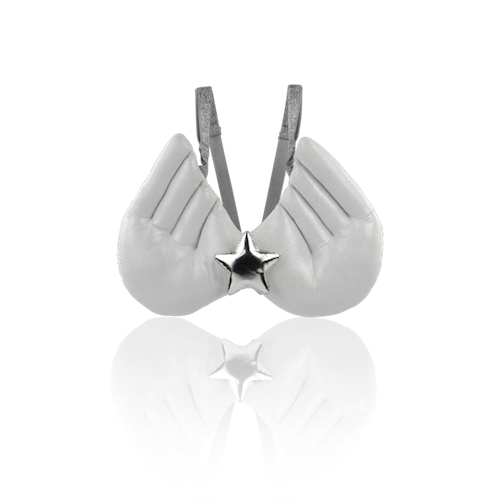Milk & Soda Angel Wings White