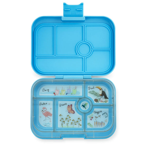 Yumbox Original Nevis Blue - 6 compartment