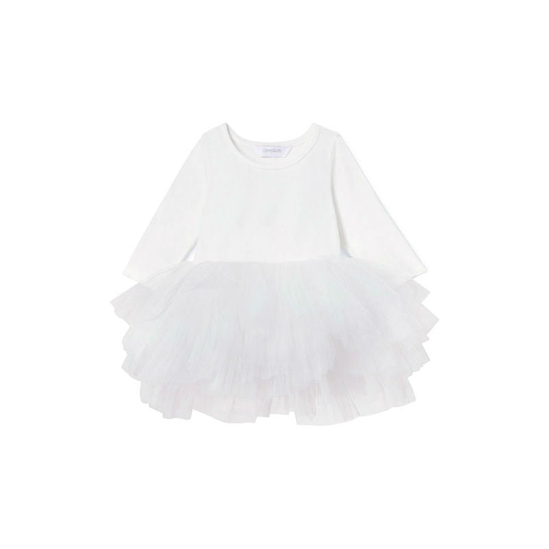 Plum NYC O.M.G. Tutu Dress Lucy White