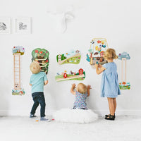 Oribel VertiPlay sensory Wall Toys Spikeyy Door Knocker