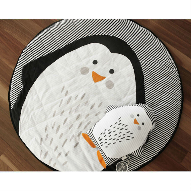 Mister Fly Penguin Face Playmat