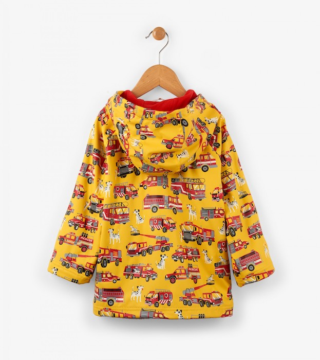 Hatley Fire Trucks Boys Raincoat