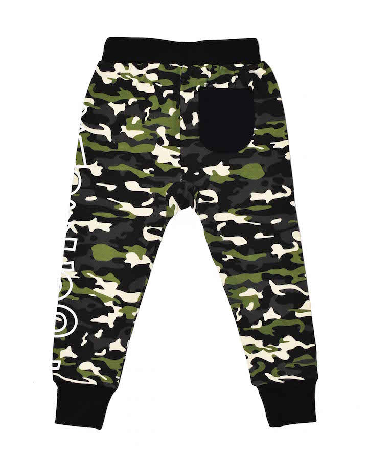 Radicool Kids The Game Pant In Camo