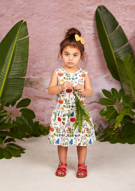 Rock Your Kid Wild Flowers Sleeveless Dress