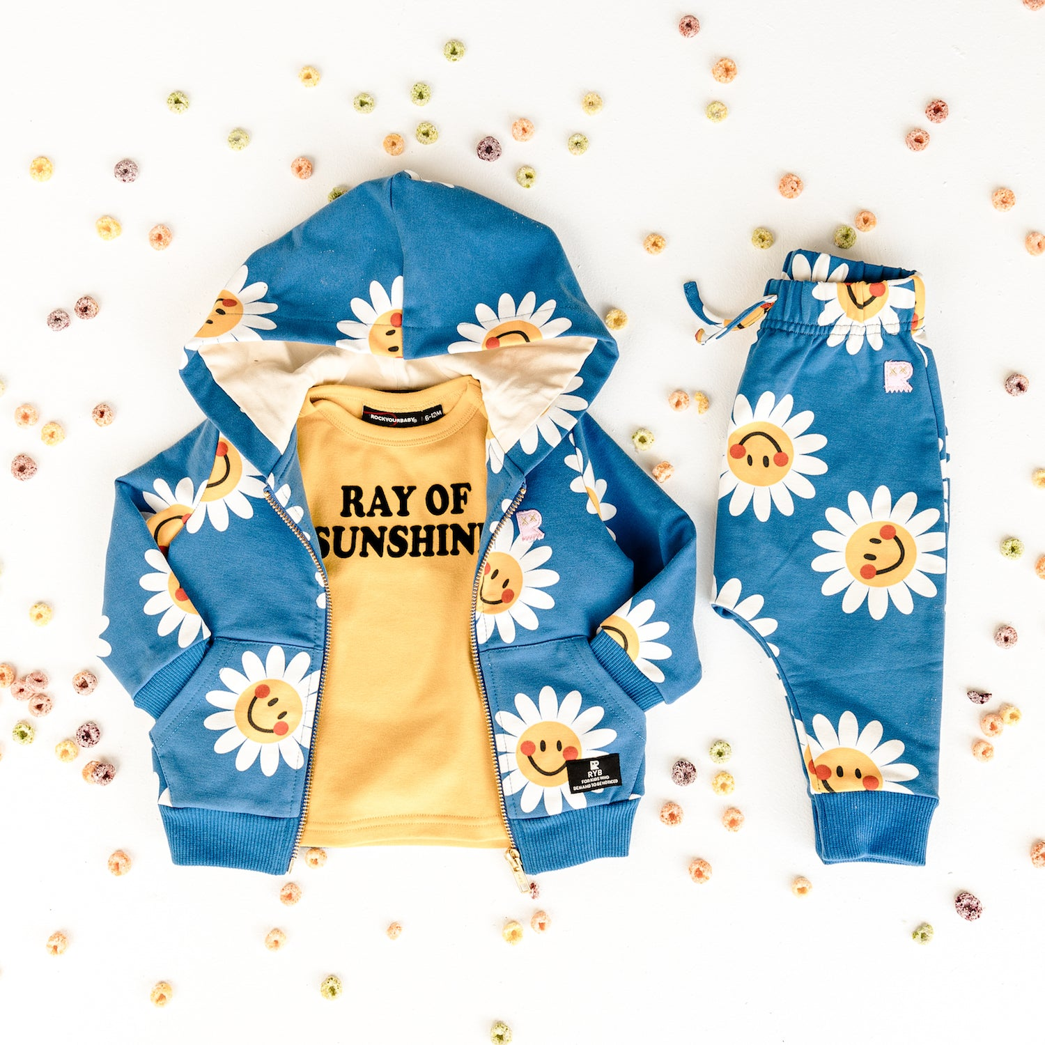 Rock Your Kid Little Daisy Hoodie