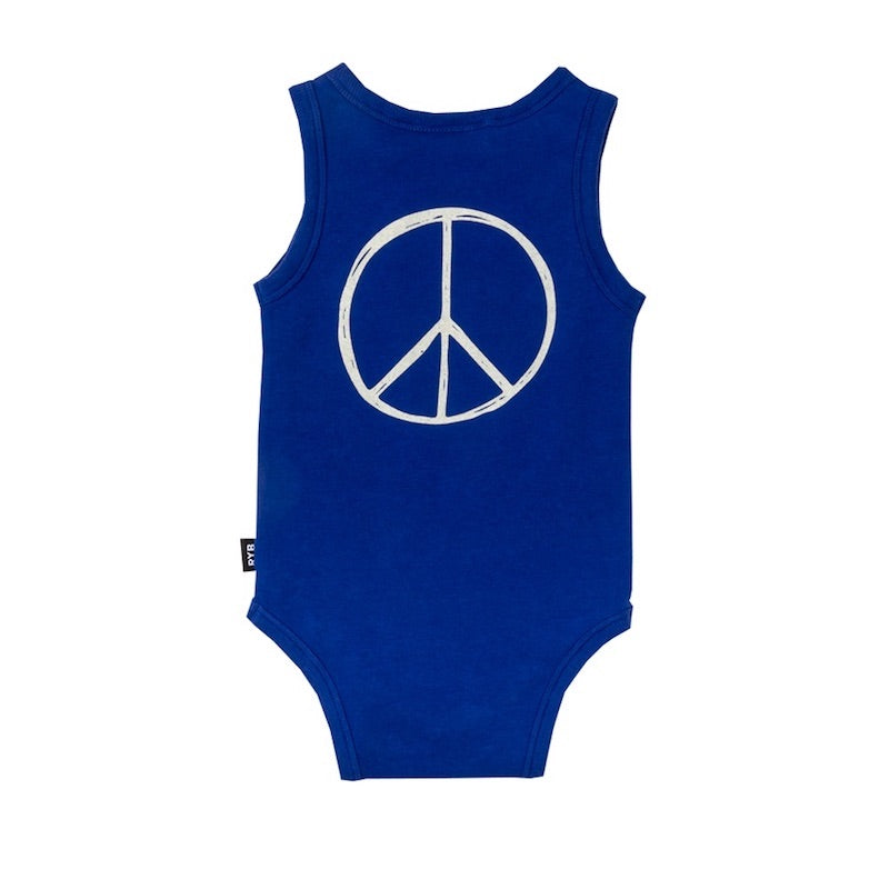 Rock Your Baby Peace Bodysuit
