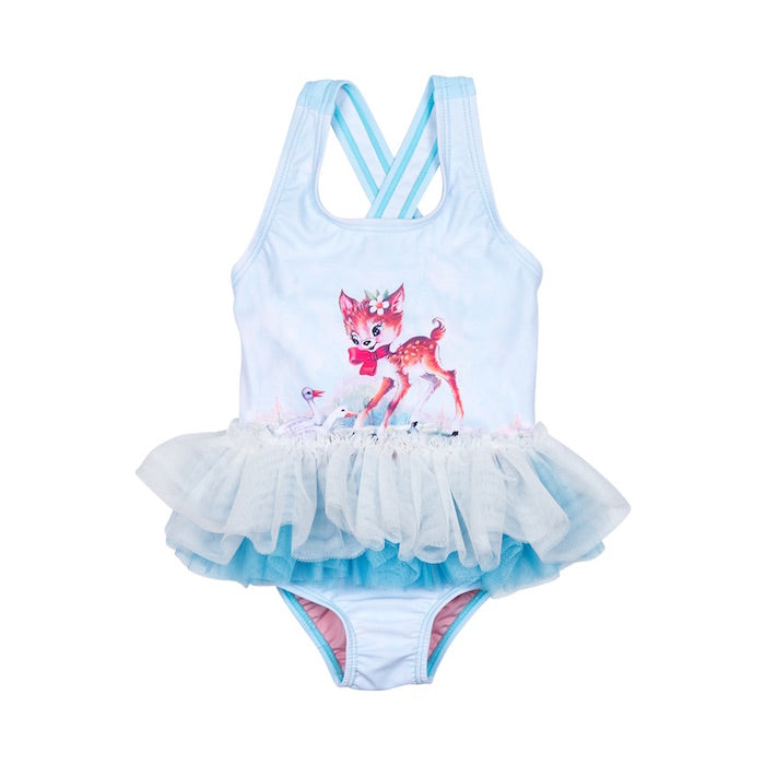 Rock Your Baby Doe A Deer Baby Tulle One Piece