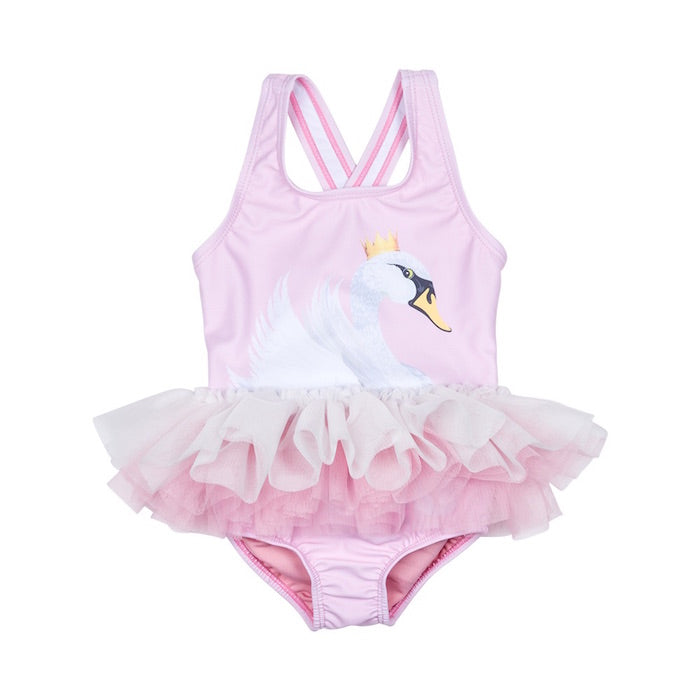 Rock Your Baby Swan Lake Baby Tulle One Piece