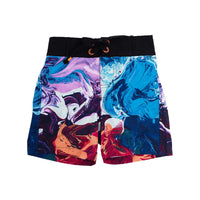 Rock Your Kid Abstract Board Shorts