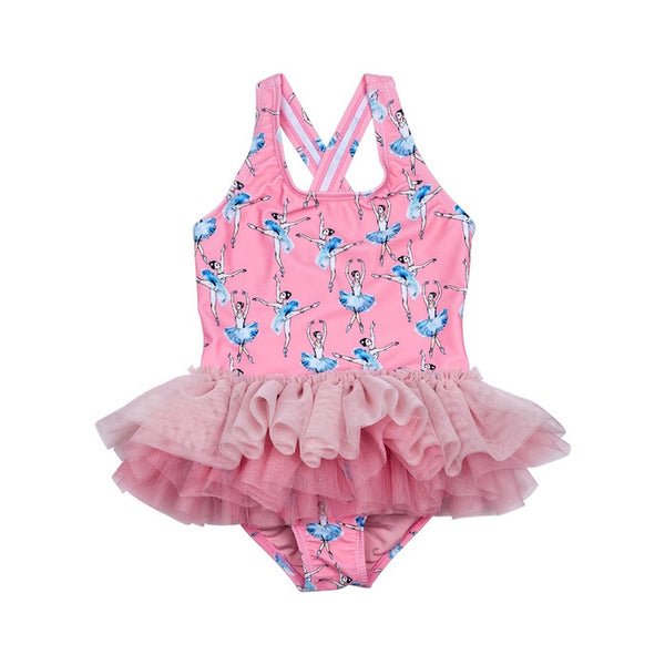 Rock Your Kid Basque Tulle One Piece