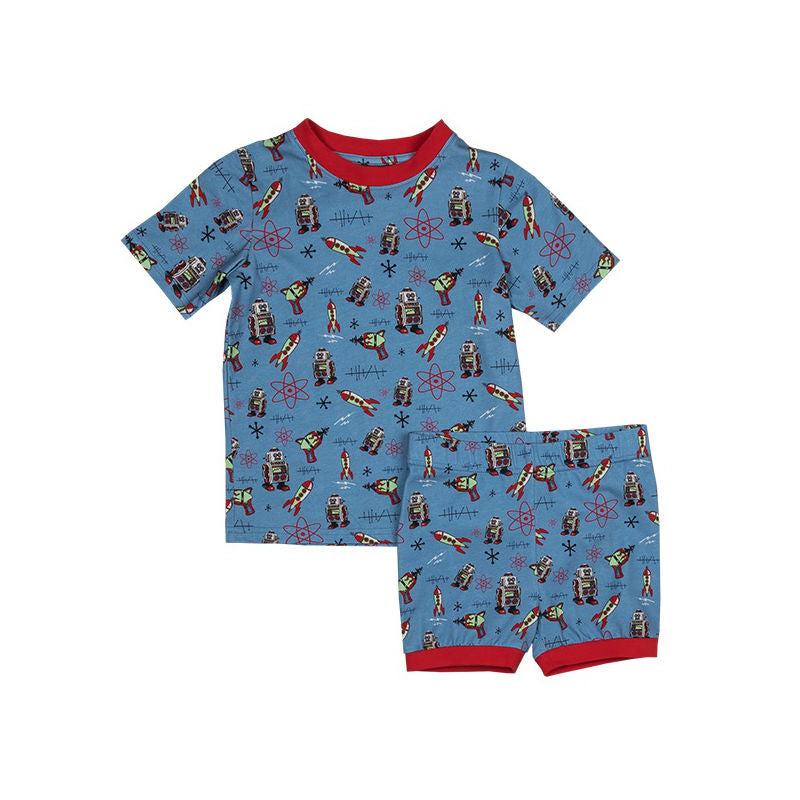 Rock Your Kid Futuristic SS PJ Set