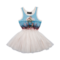 Rock Your Kid Little Mermaids Circus Dress