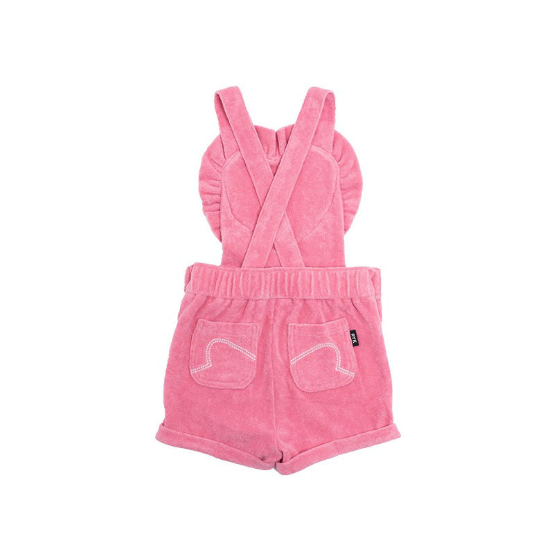 Rock Your Kid Pink Twiggy Overalls