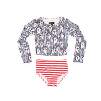 Rock Your Kid Unicorn Love Crop Set