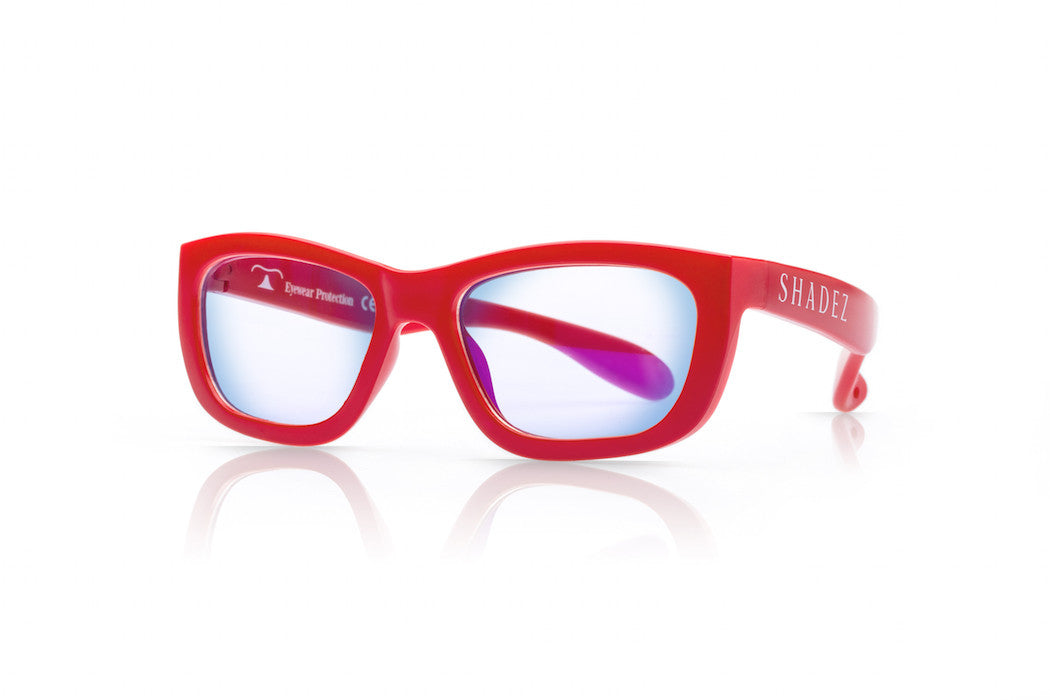 SHADEZ Blue Light Glasses Red - Teen (7-16Y)