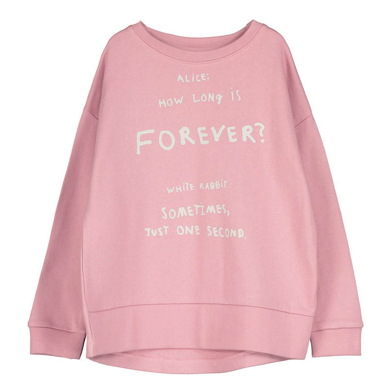 Beau Loves Relaxed Fit Sweater Pink