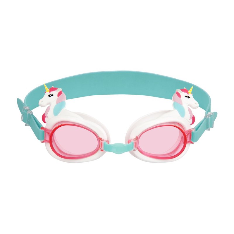 Sunnylife Kids Shaped Swimming Goggles 3-9 Unicorn