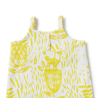 Wilson & Frenchy Mellow Yellow Ruffle All-in-One