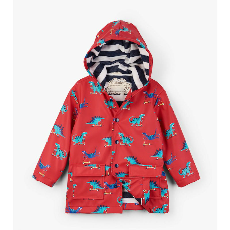 Hatley Scooting Dinos Raincoat
