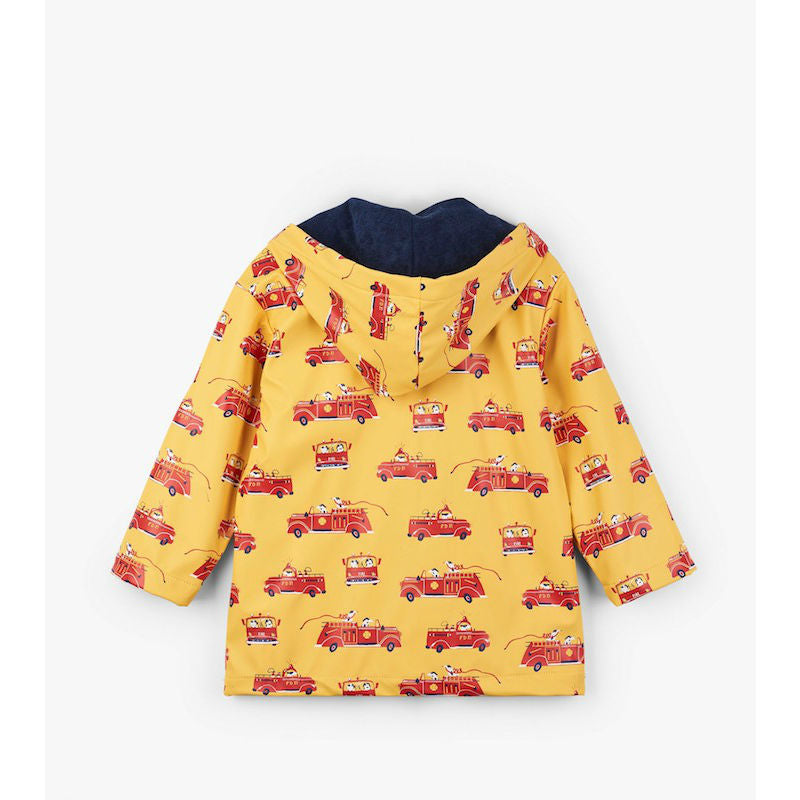 Hatley Vintage Fire Trucks Raincoat