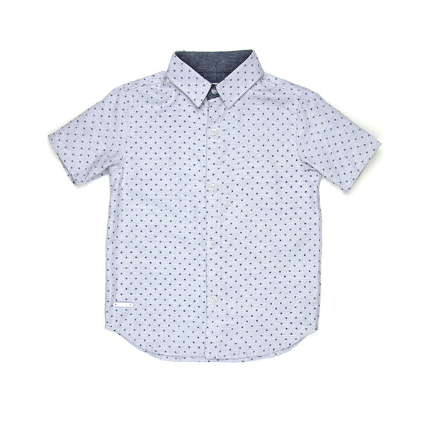Sudo Louis S/S Shirt - Arctic Blue