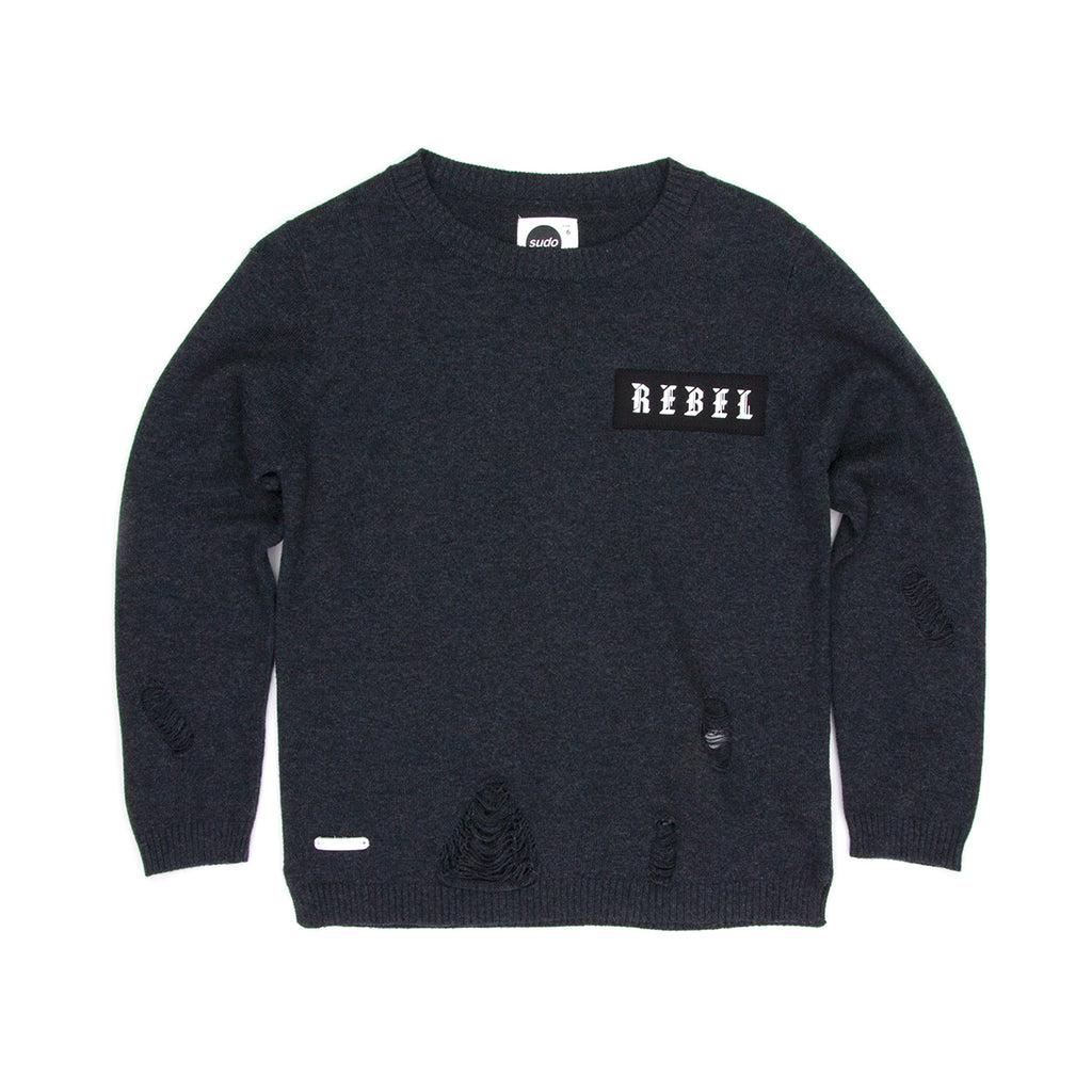 Sudo Bowie Knit Sweater-Midnight