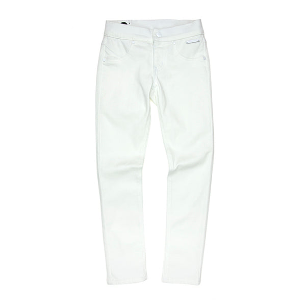 Sudo Sunday Yoga Denim Jeans - Bright White