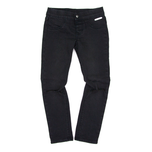 Sudo Sunday Yoga Denim Jean-Slashed Black