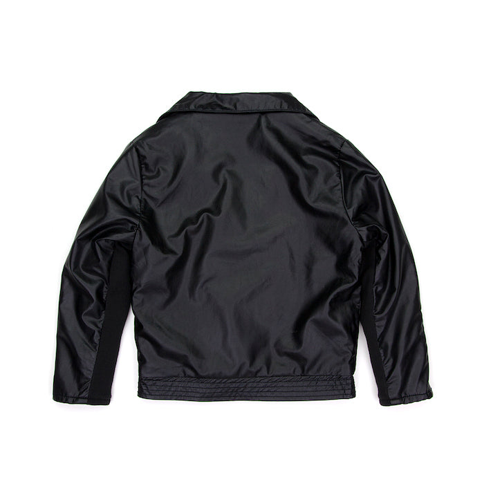 Sudo Rebel Heart Faux Leather Jacket