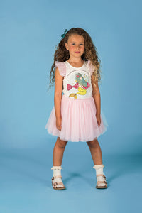 Rock Your Kid Save the Mermaids Singlet Circus Dress